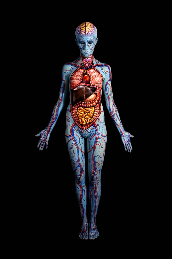 The Body Painting Art of Johannes Stötter - Girly Design Blog