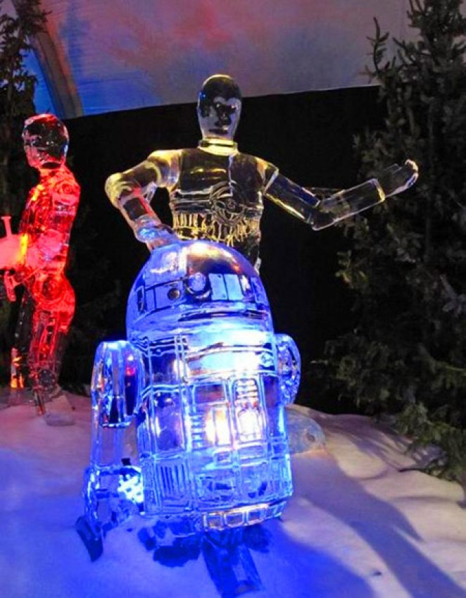 40 Cool & Creative Ice Sculptures - Girly Design Blog
