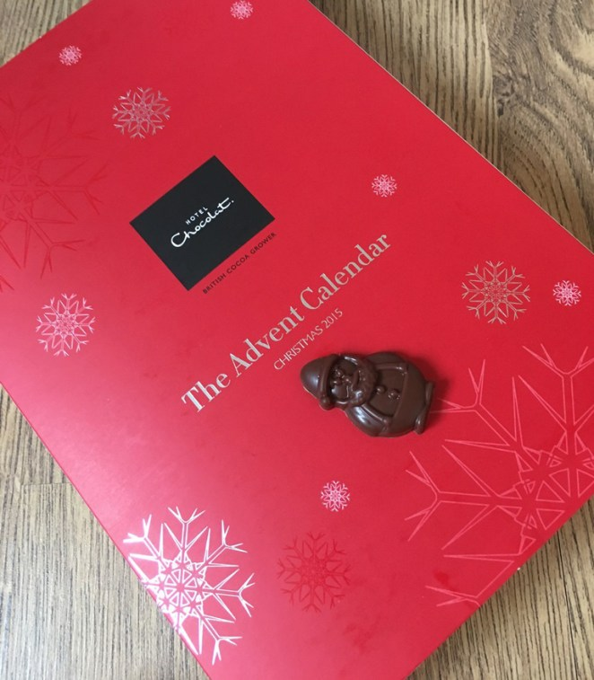Review: Hotel Chocolat Christmas Advent Calendar - Girly Design Blog