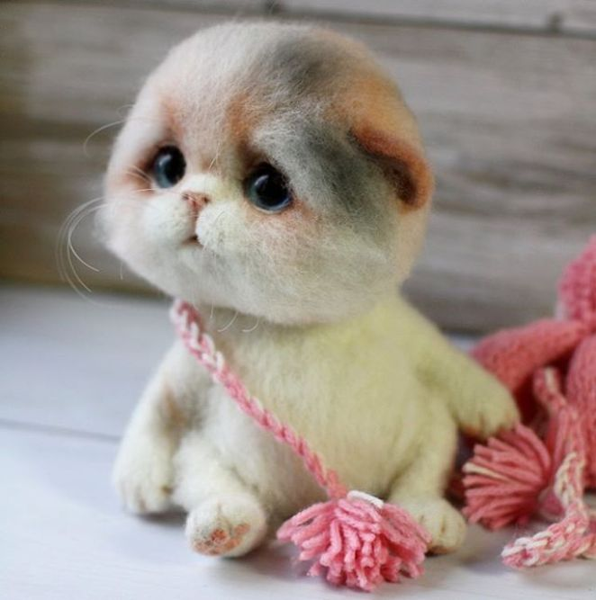 Cute Woolen Hand-Crafted Animals - Girly Design Blog