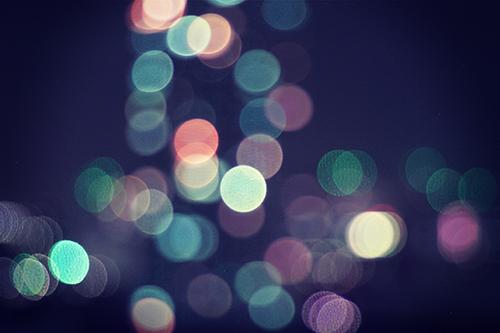 「夜」「玉ボケ」などがテーマのフリー写真画像