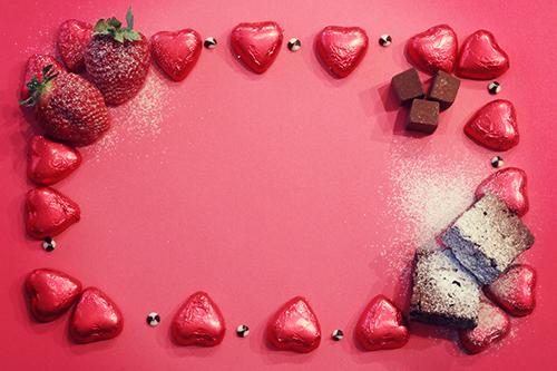「チョコレート」「フォトプロップス」「フルーツ」「果物」「食べ物」などがテーマのフリー写真画像