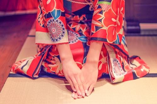 「冬」「和」「和服」「女性・女の子」「着物」「金沢」などがテーマのフリー写真画像