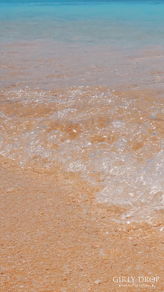 【オシャレなiPhone壁紙】日本最南端の島♡波照間島ブルーが美しいニシ浜のビーチ