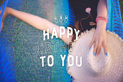 【可愛い誕生日画像】夏&海&南国の『HAPPY BIRTHDAY』ver.11