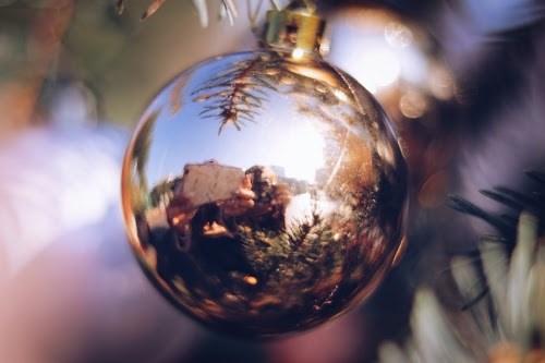 「オーナメント」「クリスマスツリー」などがテーマのフリー写真画像