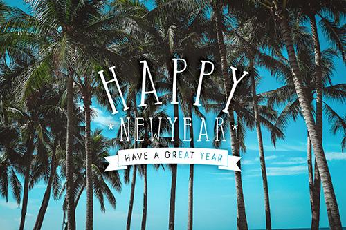 フリー写真素材:正月あけおめ画像スタンプ『HAPPY NEW YEAR』その58