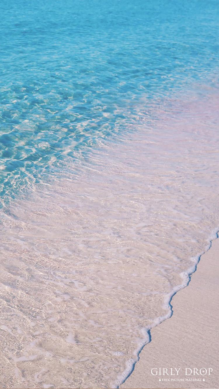 オシャレなiphone壁紙 地中海の楽園 イビザから30分 ピンクの珊瑚礁