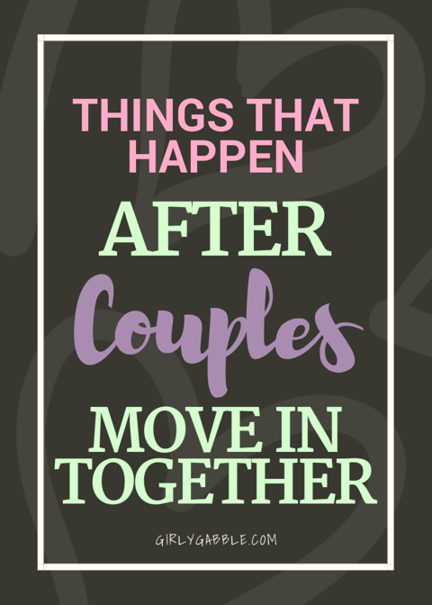 couples move in together