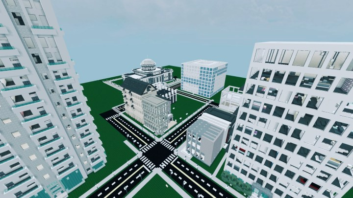 The Making of a Minecraft City