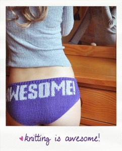 knitting is awesome knitted panties knitting pattern