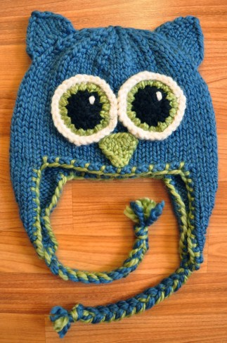 Owl Be There Girly Knits