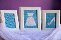 """""""Happily Ever After"""" Knitted Wall Art"""