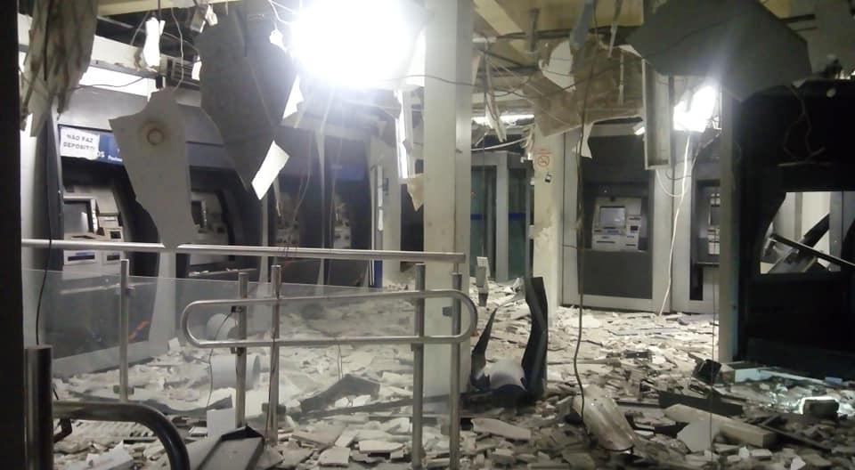 Resultado de imagem para Agência da Caixa econômica é alvo de explosão em Carpina