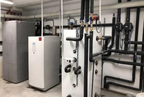 instalación máquina de geotermia en Puerta de Hierro