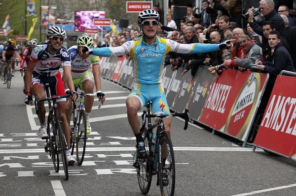 Tutto l'azzurro dell'Amstel Gold Race