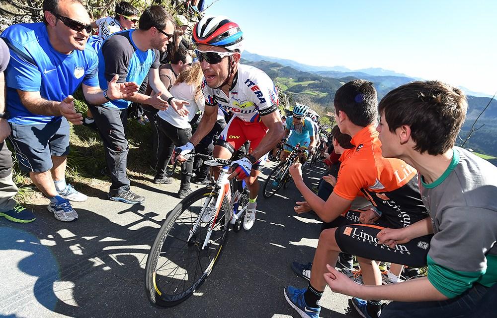 Ode a Joaquim Rodriguez, ciclista verticale