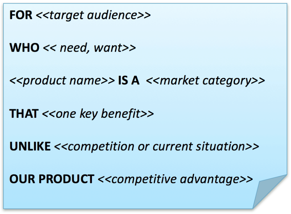 product vision statement