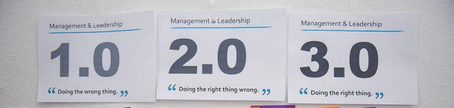 Management 1.0 2.0 3.0