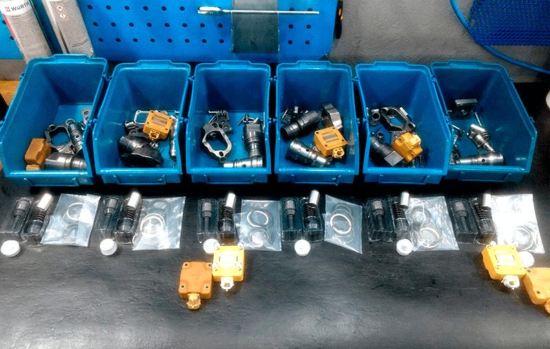 Remanufatura de sistemas de injeção eletrônica diesel deve ser feita usando sempre componentes de qualidade - Componentes remanufaturados