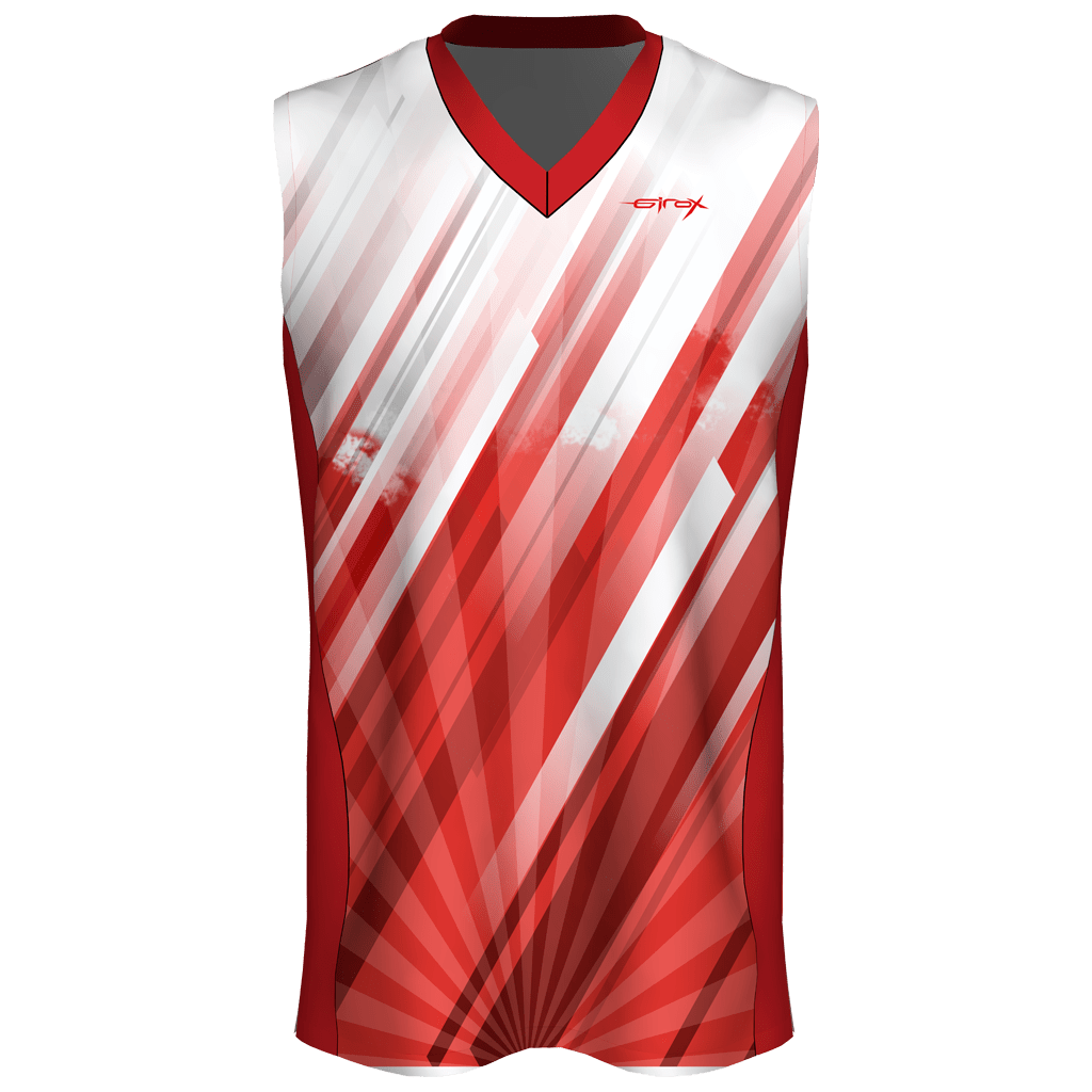 1f95fe14a8bd Custom Sublimated Basketball Jersey - Red Challenger - Girox Sportswear