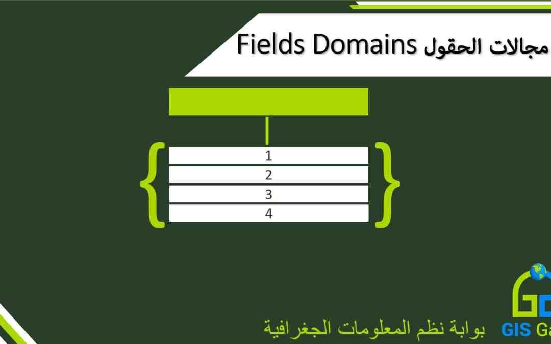 مجالات الحقول Domains