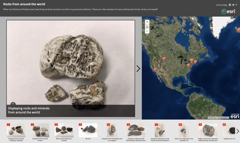 Rocks from around the world - Heather Zane