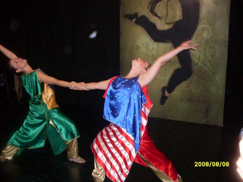Eu e Carla! Brasil e EUA!