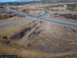 US 160 & 3 Springs Northwest view