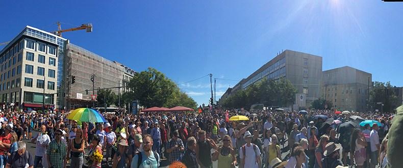 Demonstration für Frieden, Demokratie und Freiheit Berlin 01.08.2020