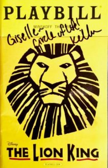 The Lion King Playbill