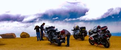 Bikers, Pikes Peak, Colorado