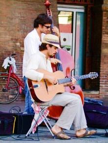 Musicians, Bologna, Italy