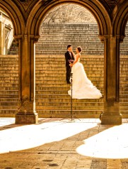 Newlyweds, Bethesda Terrace