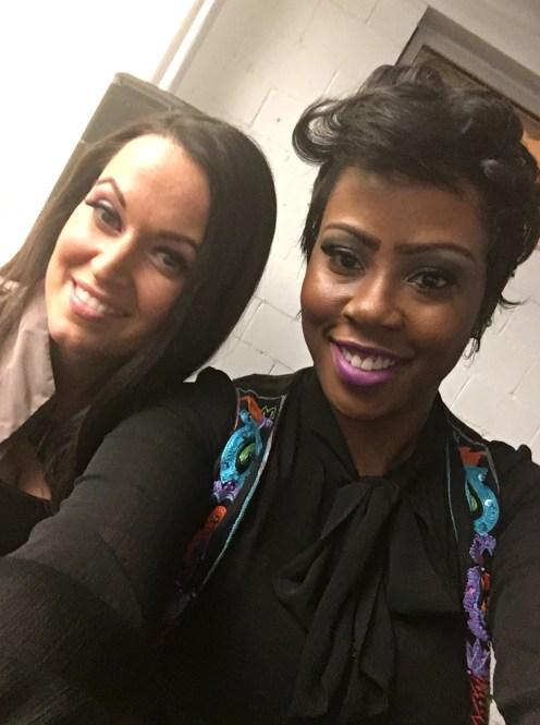 Sarah, WeTV's #SellinItATL & Giselle