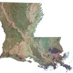 Satellite Map Of Usa United States Of America Gis Geography