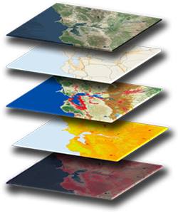GIS Data Layers - Geographic Information Systems