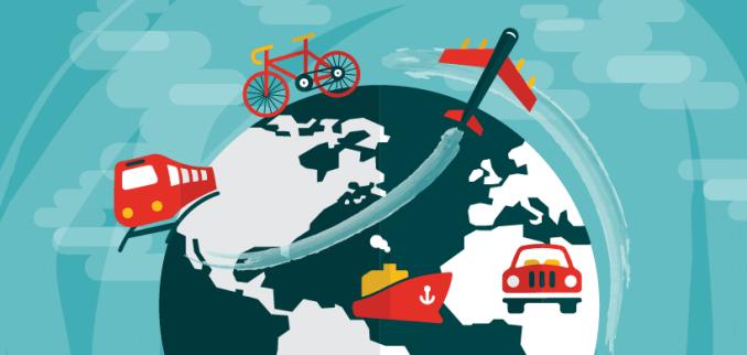 global transportation maps