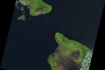 Landsat Program: Hawaii Island Volcano (Landsat-8)