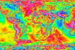 Earth Gravity Map