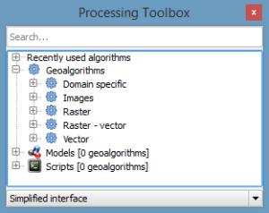 QGIS Processing Toolbox