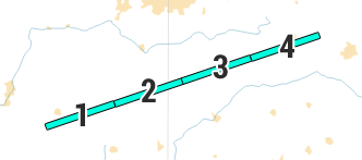 Line Segment Split