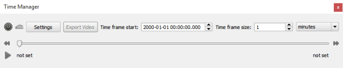 Time Manager QGIS