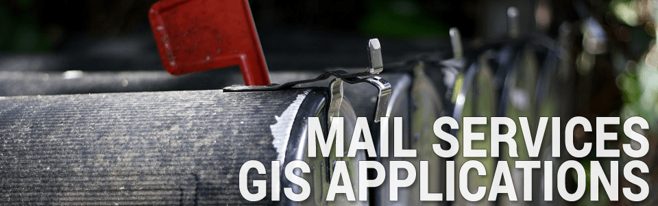 Mail Services GIS Applications