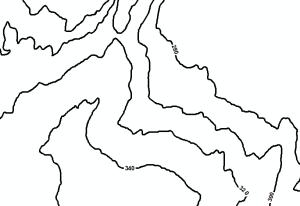 Contours Map