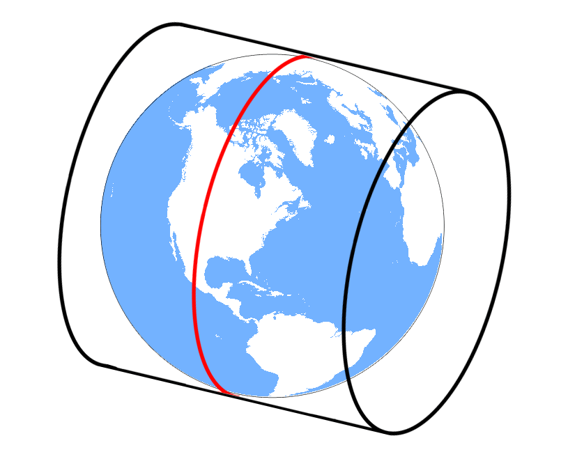 Mercator projection - definition of Mercator projection by ...   Mercator Projection Cylinder