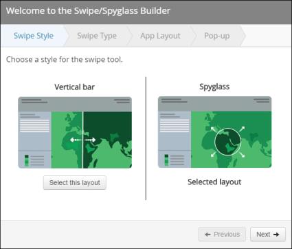 spyglass web app steps