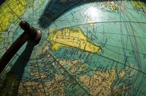 greenland globe