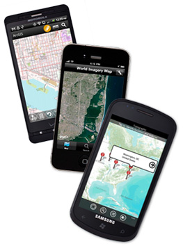 ArcGIS for smartphones.