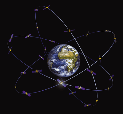 Galileo's constellation. Source: ESA.